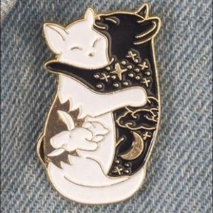 Coming soon! Rare yin yang meow Pin  | Brooch 💜